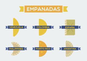 Kostenlose Empanadas Vektor