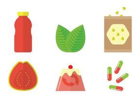 Guave Vektor Produkte