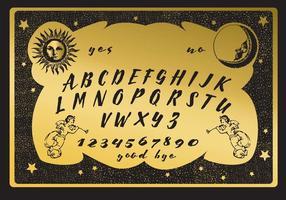 Golden Ouija Vorstand vektor
