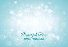 Blå Sparkle Abstrakt Stil Bakgrund