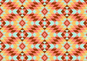 Geometrisches Kilim Muster Hintergrund vektor