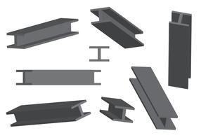 Freier Stahlstrahl-Vektor