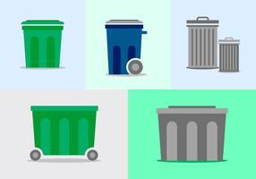 Kostenloser Müllcontainer-Pack