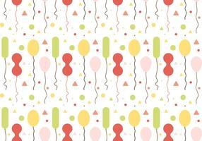 Freie Ballons Muster Vektor # 1