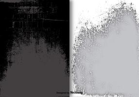 Grunge överlagsvektorer vektor