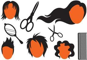 Free Frisur Vektoren 2