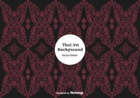 Gratis mörk thailändsk mönstervektor