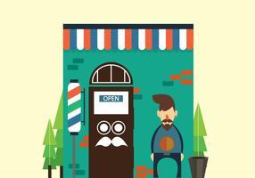 Kostenlose Barbershop HairStyle Vektor