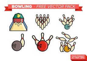 Bowling kostenlos Vektor Pack