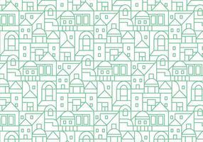 Gebäude Muster Hintergrund