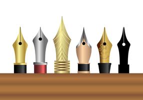 Free Pen Nib Vektor
