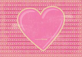 Vintage Valentinsdag Bakgrund