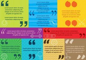 Meinungen und Phrasen vektor