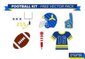 Fotbolls Kit Gratis Vector Pack