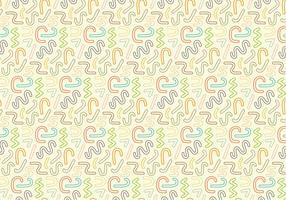 Zusammenfassung hellen Strudel Muster Hintergrund vektor