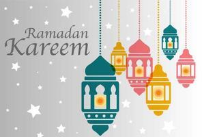 Pelita muslimska bakgrund vektor