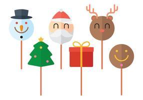 Weihnachtskuchen Pops