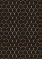 dekoratives Gold- und Schwarzmuster vektor
