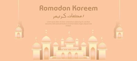 ramadan kareem islamiska heliga månaden