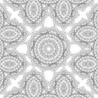 dekorativer Mandalamusterhintergrund vektor
