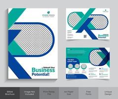 Corporate Business Briefpapier Kit
