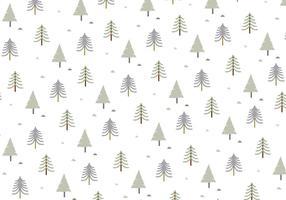 Trädmönster Bakgrundsvektor vektor