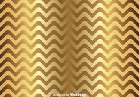 Gold-Chevron-Muster vektor