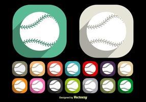 Baseball snören vektorer