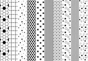 Free dotted Patterns Vektoren