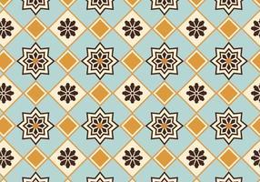 Marockansk mönster bakgrundsvektor vektor