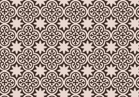 Mauve marokkanischen Muster Hintergrund Vektor