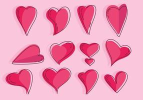 Hjärtvektor vektor