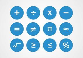 Mathe-Symbole Vektoren