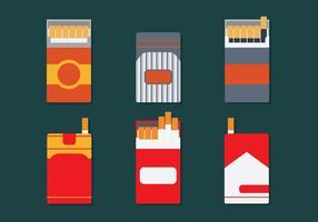 Zigarettenschachtel Vektor