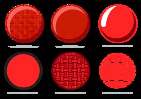 Freier Kickball-Vektor vektor