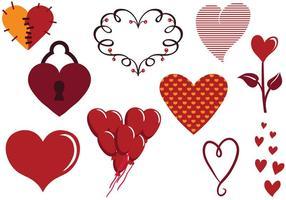 Gratis hjärtvektorer vektor