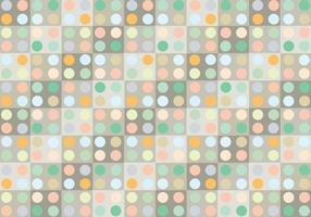 Pastell-Punkt-Muster Hintergrund Vektor