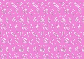 Free Dessert Patterns Vektor