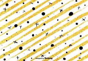 Golden Glitter Bakgrund Vector