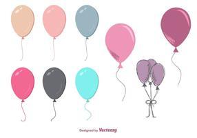 Freie Ballon-Vektoren vektor