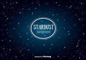 Freier Stardust Vektor Hintergrund