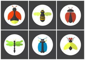 Set von Vektor-Bugs