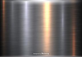 Metall effekt textur vektor bakgrund