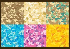 Pixel-Multicam-Vektor-Muster