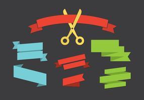 Vector Set von Bändern