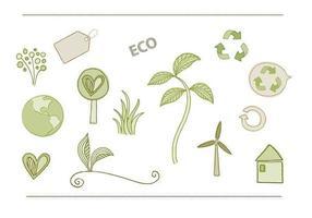 Eco - Umgebungsvektor Pack