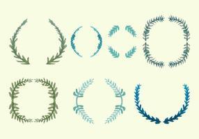 Gratis Olive Wreath Vector Pack