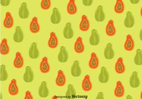 Papaya sömlösa mönster vektor