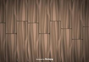 Trä Plankor Vektor Bakgrund