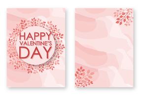 Freier Valentinstag-Karten-Vektor vektor